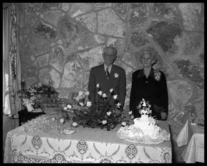 Primary view of object titled '50th Wedding Anniversary, Mr. & Mrs. Baird'.