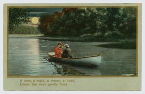 "Primary view of object titled '[Illustrated Song Postcard, ""Same Old Story"": Part 1]'."
