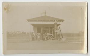 [Photograph of Hanes Filling Station]
