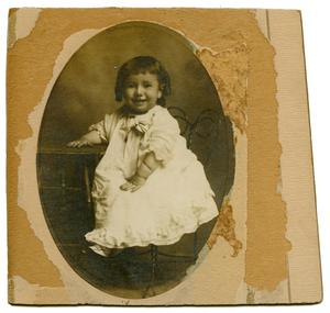 Primary view of [Portrait of Elmer Josephine Wheatly (Dolly)]