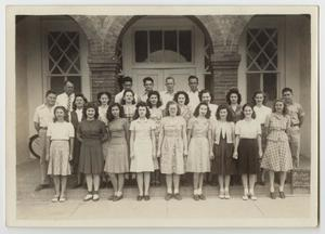 [Photograph of Eleventh and Twelfth Grade Students]