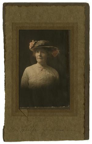 [Portrait of Josephine Gresham]