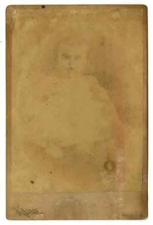 [Portrait of Mollie Williams as a Baby]