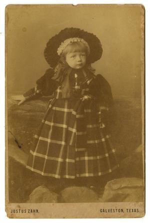 [Portrait of Charles James Sweeney in a Plaid Dress]