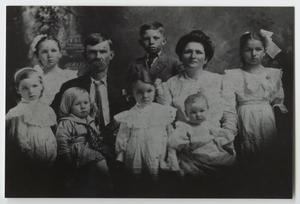 [Family Portrait of John and Victoria Singleton with their Children]