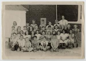 [Class Photograph of Students at the School in Haslet, Texas]