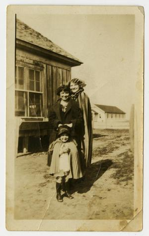Primary view of object titled '[Photograph of Imogene, Mamie Ruth, and Kathryn]'.
