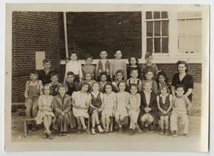 [Photograph of Children at a School in Haslet, Texas]