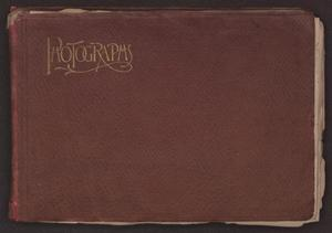 Primary view of object titled '[Photo Album Belonging to the Gresham Family]'.