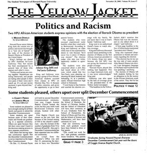 The Yellow Jacket (Brownwood, Tex.), Vol. 99, No. 7, Ed. 1 Thursday, November 20, 2008
