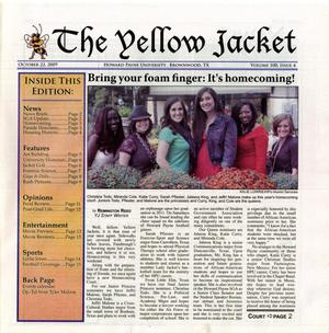 Primary view of object titled 'The Yellow Jacket (Brownwood, Tex.), Vol. 100, No. 4, Ed. 1 Thursday, October 22, 2009'.