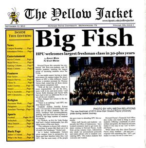 The Yellow Jacket (Brownwood, Tex.), Vol. 104, No. 1, Ed. 1 Thursday, September 12, 2013
