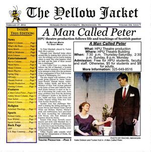 The Yellow Jacket (Brownwood, Tex.), Vol. 104, No. 9, Ed. 1 Thursday, February 27, 2014