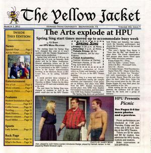 Primary view of object titled 'The Yellow Jacket (Brownwood, Tex.), Vol. 102, No. 9, Ed. 1 Thursday, March 1, 2012'.