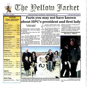 The Yellow Jacket (Brownwood, Tex.), Vol. 104, No. 8, Ed. 1 Thursday, February 13, 2014