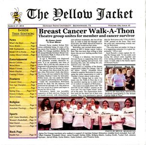 The Yellow Jacket (Brownwood, Tex.), Vol. 104, No. 10, Ed. 1 Thursday, March 27, 2014