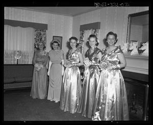 Primary view of object titled 'Wallace Scott Jr. Wedding - Bridal Attendants'.