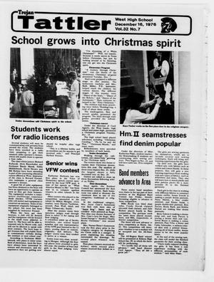 Trojan Tattler (West, Tex.), Vol. 86, No. 50, Ed. 1 Thursday, December 16, 1976