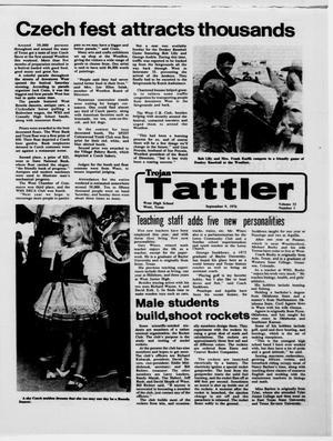 Trojan Tattler (West, Tex.), Vol. 32, No. 1, Ed. 1 Thursday, September 9, 1976