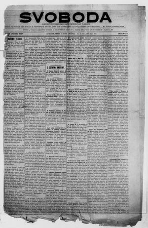 Svoboda (La Grange, Tex.), Vol. 35, No. 16, Ed. 1 Thursday, April 15, 1920