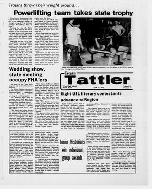 Trojan Tattler (West, Tex.), Vol. 31, No. 14, Ed. 1 Thursday, April 22, 1976
