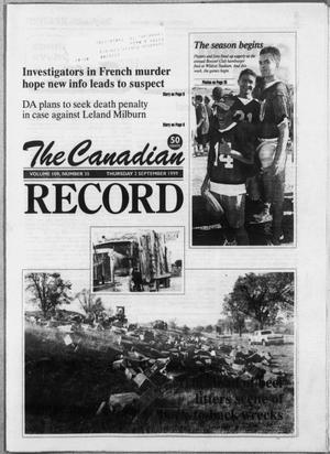 The Canadian Record (Canadian, Tex.), Vol. 109, No. 35, Ed. 1 Thursday, September 2, 1999