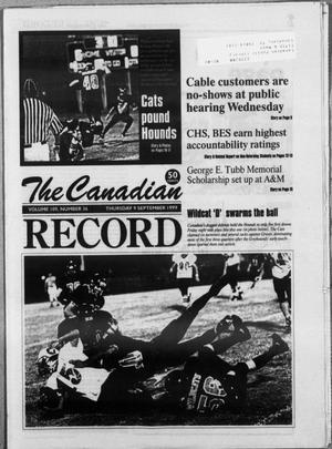 The Canadian Record (Canadian, Tex.), Vol. 109, No. 36, Ed. 1 Thursday, September 9, 1999