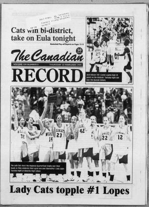 The Canadian Record (Canadian, Tex.), Vol. 109, No. 59, Ed. 1 Thursday, February 25, 1999
