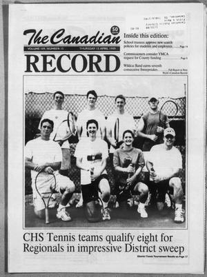 The Canadian Record (Canadian, Tex.), Vol. 109, No. 66, Ed. 1 Thursday, April 15, 1999
