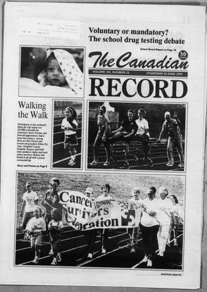 The Canadian Record (Canadian, Tex.), Vol. 109, No. 25, Ed. 1 Thursday, June 24, 1999