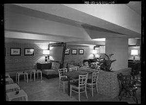 Primary view of object titled '[Capital National Bank Interiors]'.