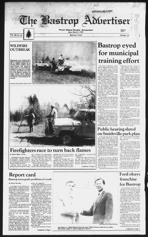 Primary view of object titled 'The Bastrop Advertiser (Bastrop, Tex.), Vol. 136, No. 94, Ed. 1 Monday, January 29, 1990'.
