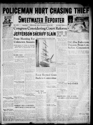 Primary view of object titled 'Sweetwater Reporter (Sweetwater, Tex.), Vol. 40, No. 23, Ed. 1 Wednesday, March 10, 1937'.