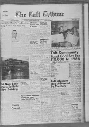 Primary view of The Taft Tribune (Taft, Tex.), Vol. 45, No. 9, Ed. 1 Wednesday, October 5, 1966