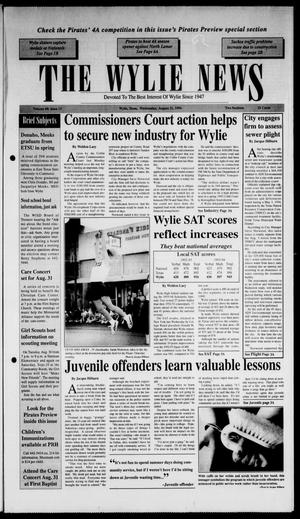 Primary view of object titled 'The Wylie News (Wylie, Tex.), Vol. 48, No. 13, Ed. 1 Wednesday, August 31, 1994'.