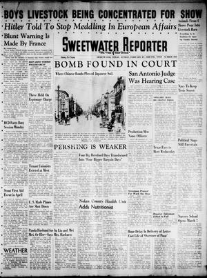 Primary view of object titled 'Sweetwater Reporter (Sweetwater, Tex.), Vol. 40, No. 305, Ed. 1 Sunday, February 27, 1938'.