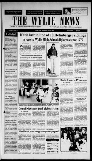 The Wylie News (Wylie, Tex.), Vol. 48, No. 52, Ed. 1 Wednesday, May 31, 1995