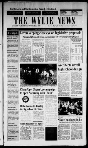 The Wylie News (Wylie, Tex.), Vol. 48, No. 43, Ed. 1 Wednesday, March 29, 1995
