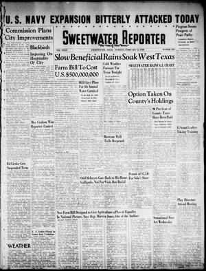 Primary view of object titled 'Sweetwater Reporter (Sweetwater, Tex.), Vol. 40, No. 295, Ed. 1 Tuesday, February 15, 1938'.
