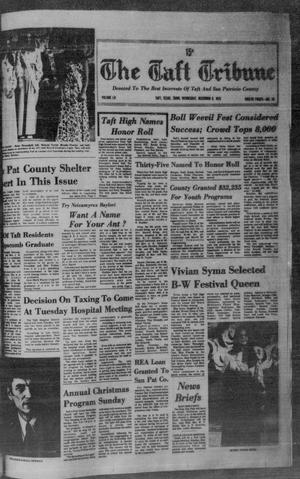 The Taft Tribune (Taft, Tex.), Vol. 52, No. 48, Ed. 1 Wednesday, December 5, 1973