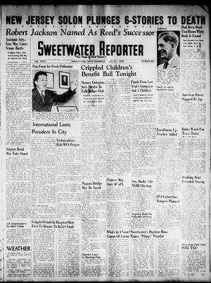 Primary view of object titled 'Sweetwater Reporter (Sweetwater, Tex.), Vol. 40, No. 285, Ed. 1 Thursday, January 27, 1938'.