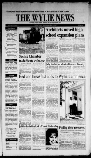 The Wylie News (Wylie, Tex.), Vol. 51, No. 6, Ed. 1 Wednesday, July 9, 1997