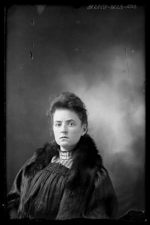 Primary view of object titled '[Woman in Furs]'.
