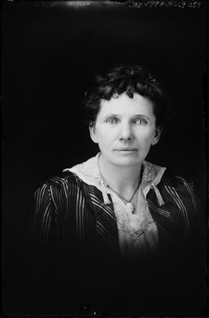Primary view of object titled '[Woman in Jacket]'.