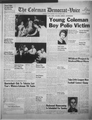 Primary view of object titled 'The Coleman Democrat-Voice (Coleman, Tex.), Vol. 82, No. 17, Ed. 1 Tuesday, October 2, 1962'.