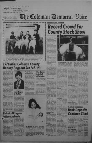 Primary view of object titled 'The Coleman Democrat-Voice (Coleman, Tex.), Vol. 93, No. 33, Ed. 1 Tuesday, January 8, 1974'.
