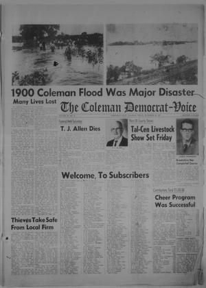 Primary view of object titled 'The Coleman Democrat-Voice (Coleman, Tex.), Vol. 87, No. 30, Ed. 1 Tuesday, December 26, 1967'.