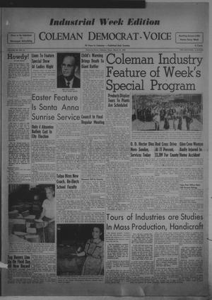 Primary view of object titled 'Coleman Democrat-Voice (Coleman, Tex.), Vol. 68, No. 41, Ed. 1 Tuesday, March 31, 1953'.