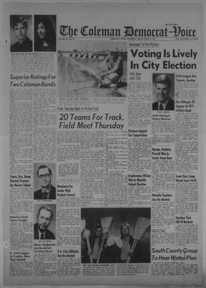 Primary view of object titled 'The Coleman Democrat-Voice (Coleman, Tex.), Vol. 90, No. 45, Ed. 1 Tuesday, April 6, 1971'.