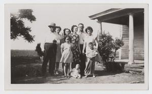 Primary view of object titled '[Photograph of Ingram Family Members]'.